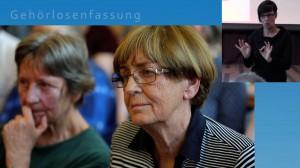 Gesundheit im Gespräch 2018 wieder mit Gehörlosenfassung