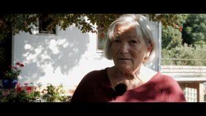 Margot Hellwig aus Ziegenhagen spricht über den geplanten Windpark Steinberg